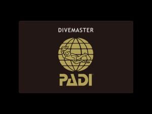 PADIダイブマスターライセンスカード