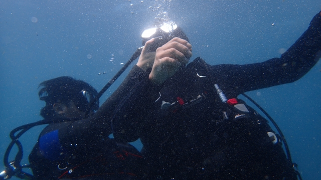奈良ダイビングスクールI-FISHのレスキューダイバー講習の写真